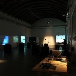 the Milano in Digitale exhibition space