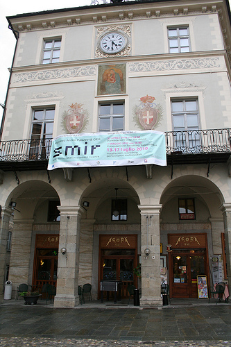 Squatting Supermarkets in Mondovì for SMIR project