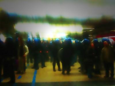 Conflict at Stazione Termini, Rome