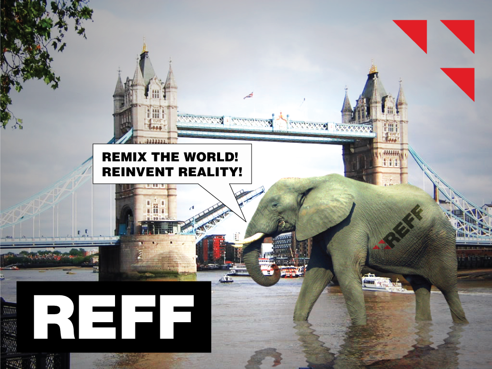 REFF remix the world augment reality