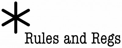 Rules & Regs Logo