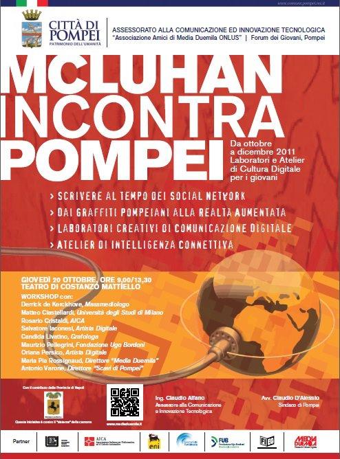 McLuhan incontra Pompei