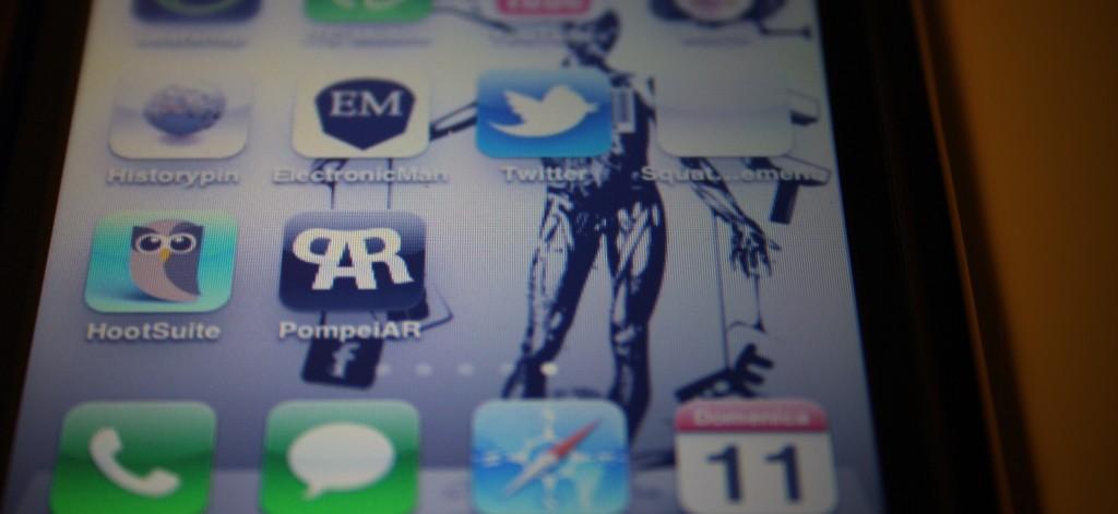 the icon of Ubiquitous Pompei mobile app