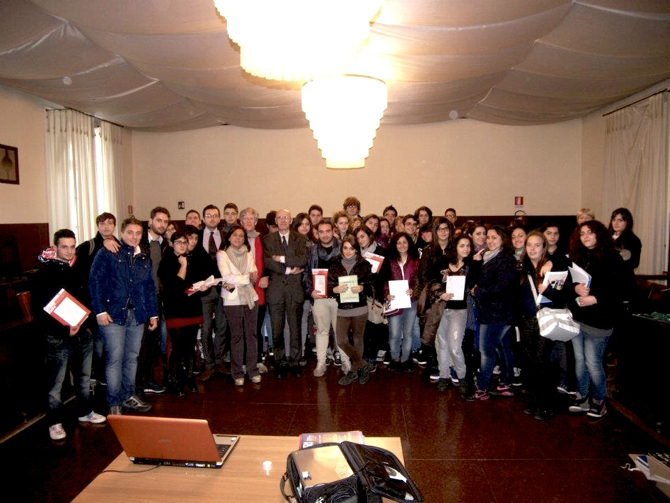 All together for the presentation of Ubiquitous Pompei