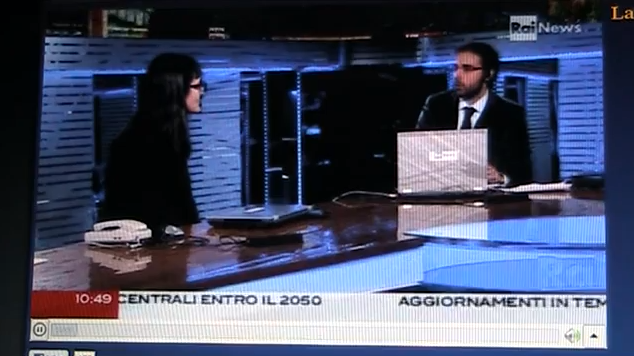 Ubiquitous Pompei on RaiNews24