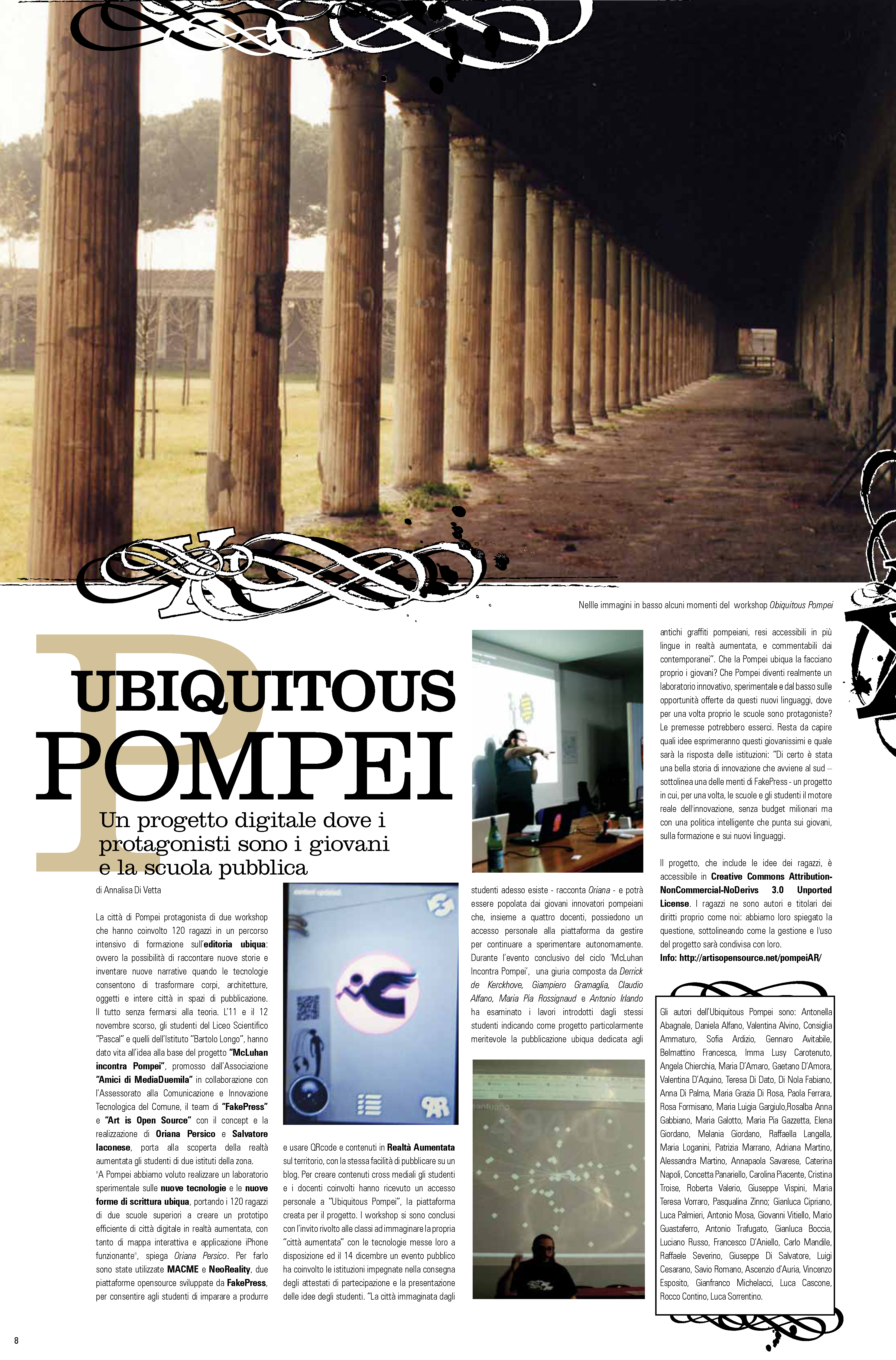 Ubiquitous Pompei on NextExit Magazine