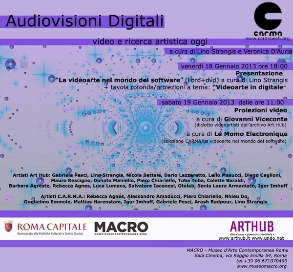 Audiovisioni Digitali at MACRO