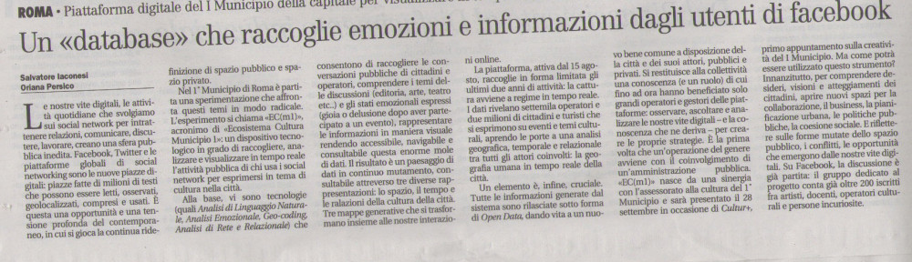 EC(m1) on il Manifesto