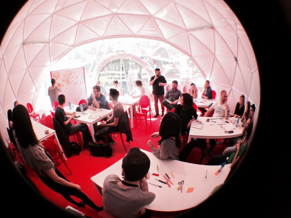 Near Future Design workshop at NextFest