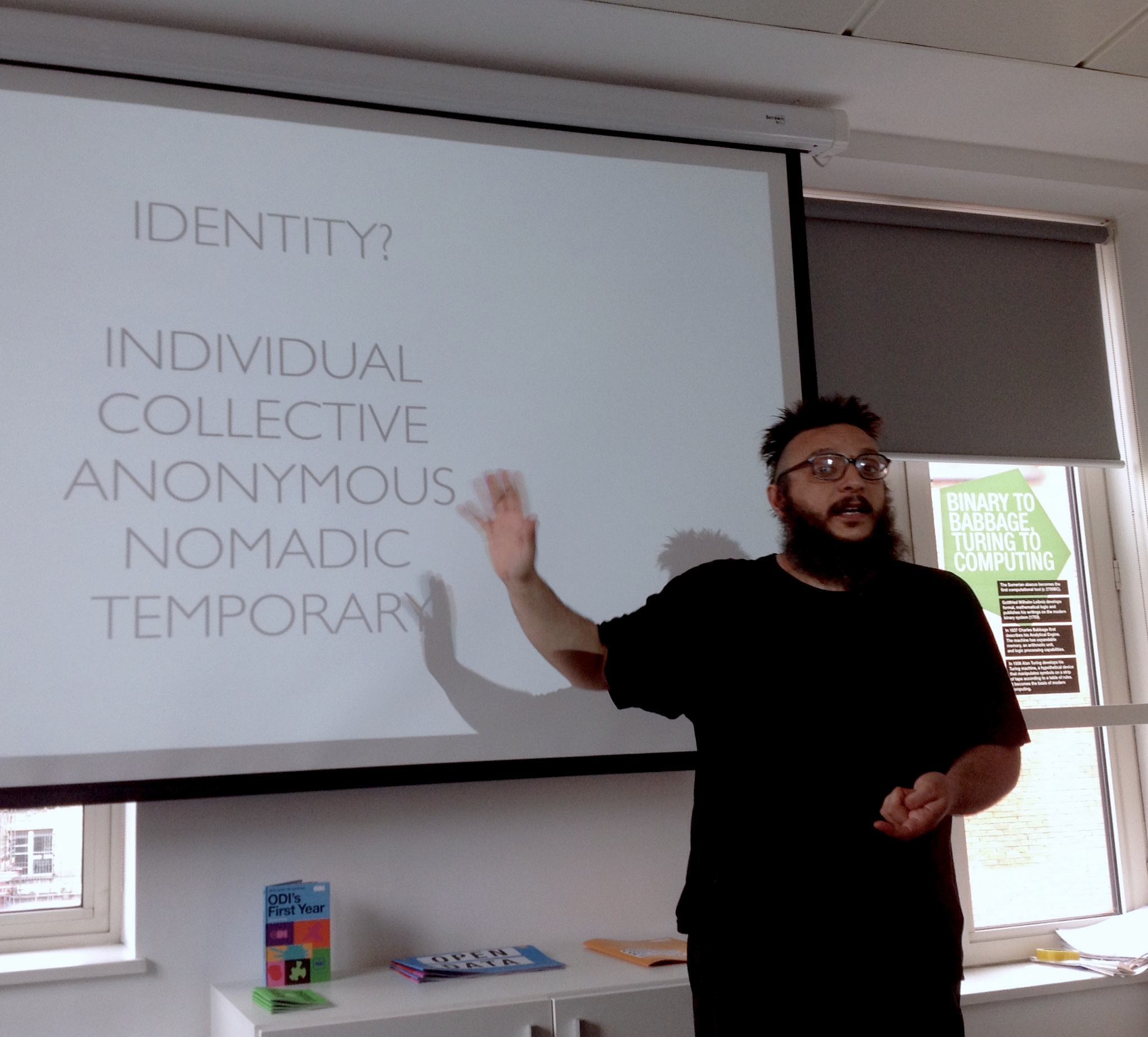 Ubiquitous Commons talk at ODI - Open Data Institute (London)