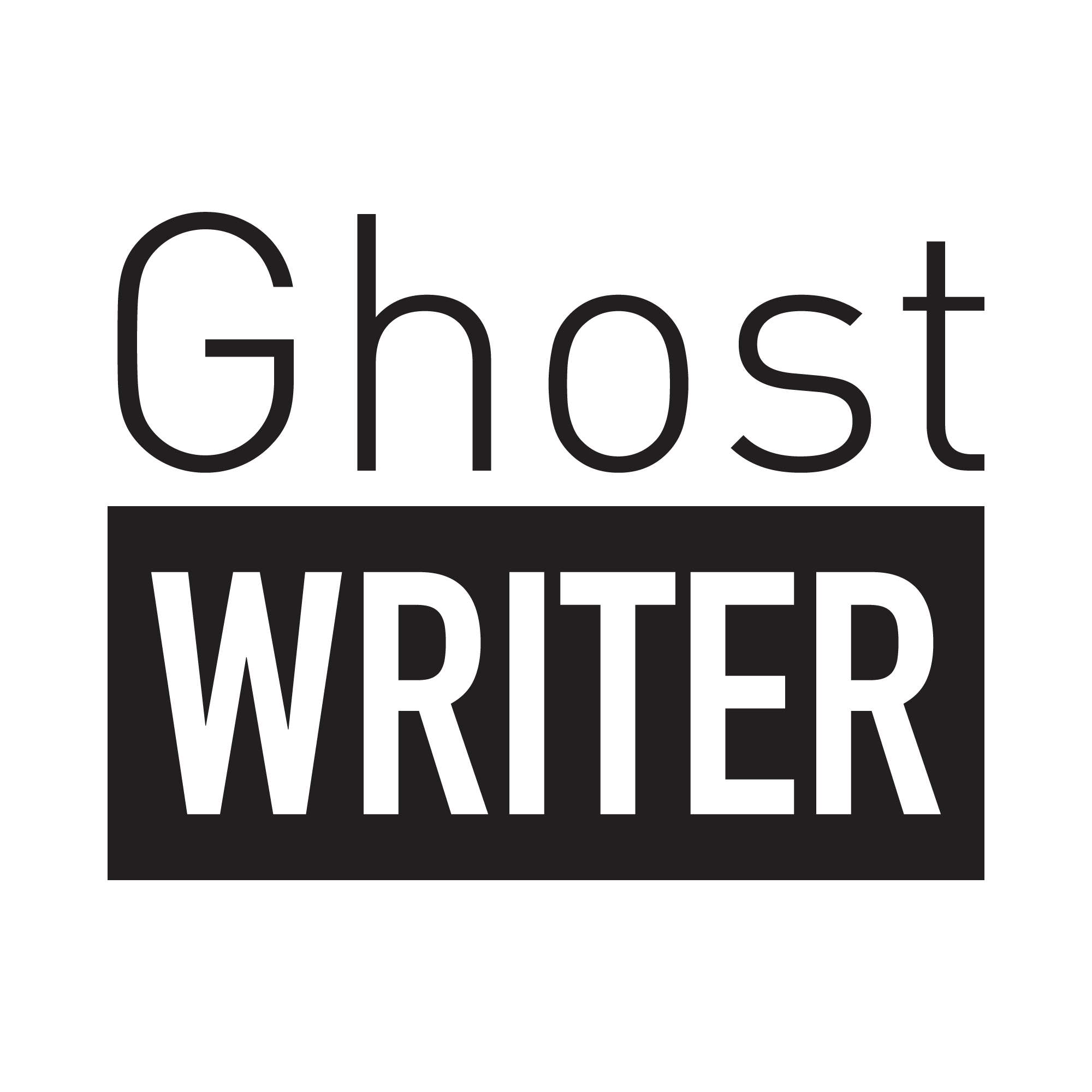 Ghoast writer