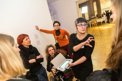 GostWriter, Streaming Egos exhibit: discussing Algorithmic Autobiography with the audience