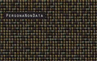 Persona Non Data - Faces