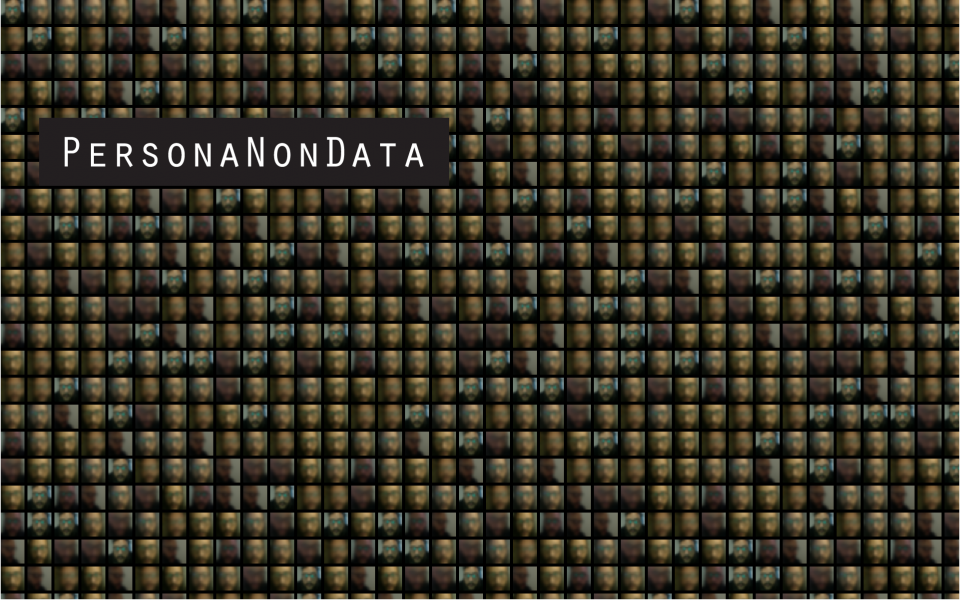 Persona Non Data - Faces