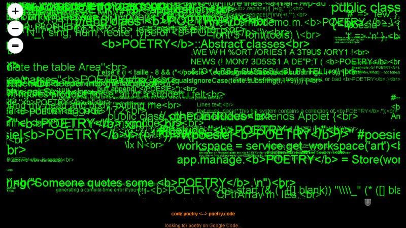 Code Poetry
