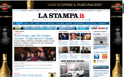 RomaEuropa FakeFactory on La Stampa