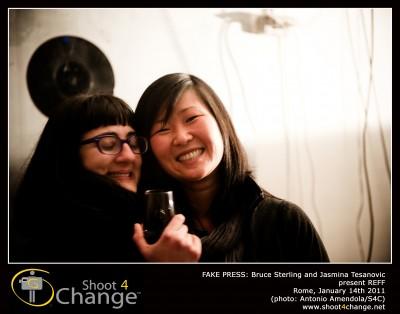 Oriana Persico & Cary Hendrickson (FakePress) , photo Shoot4Change