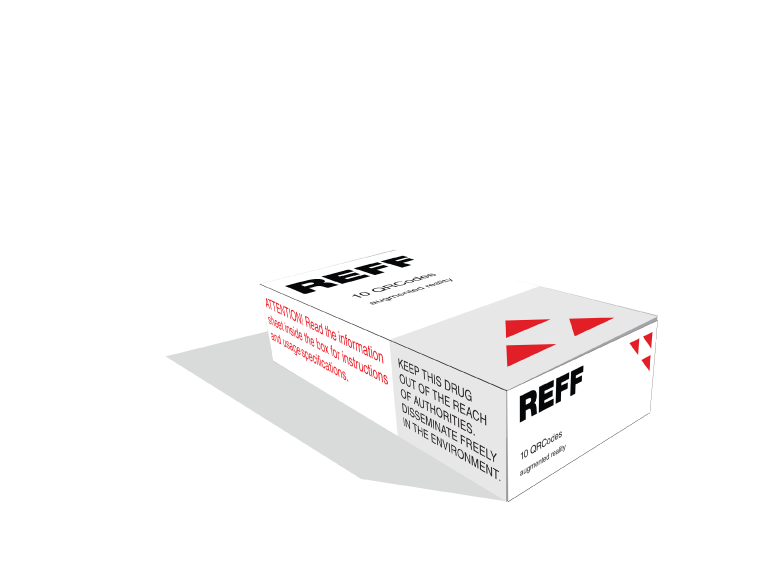 REFF, an augmented reality drug, part 1