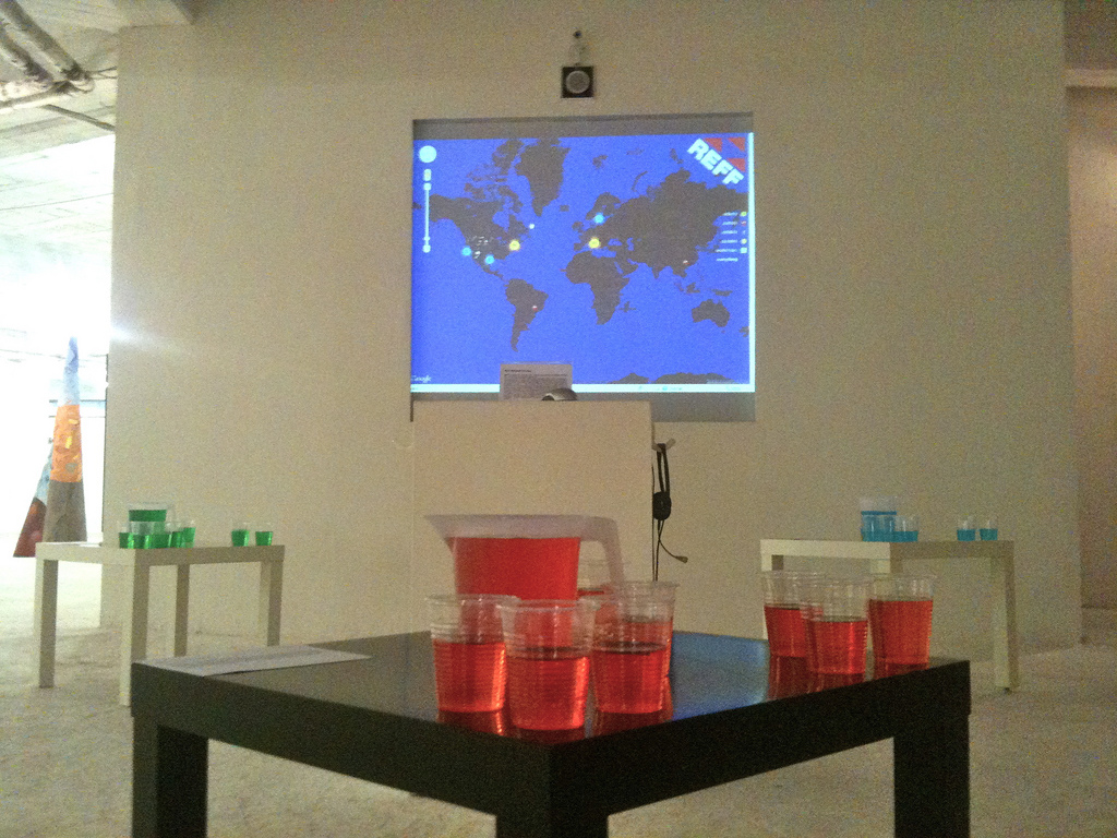 REFF Augmented Reality Drug at the Casoria Contemporary Arts Museum