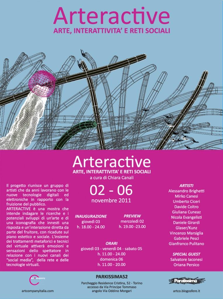 Arteractive in Turin