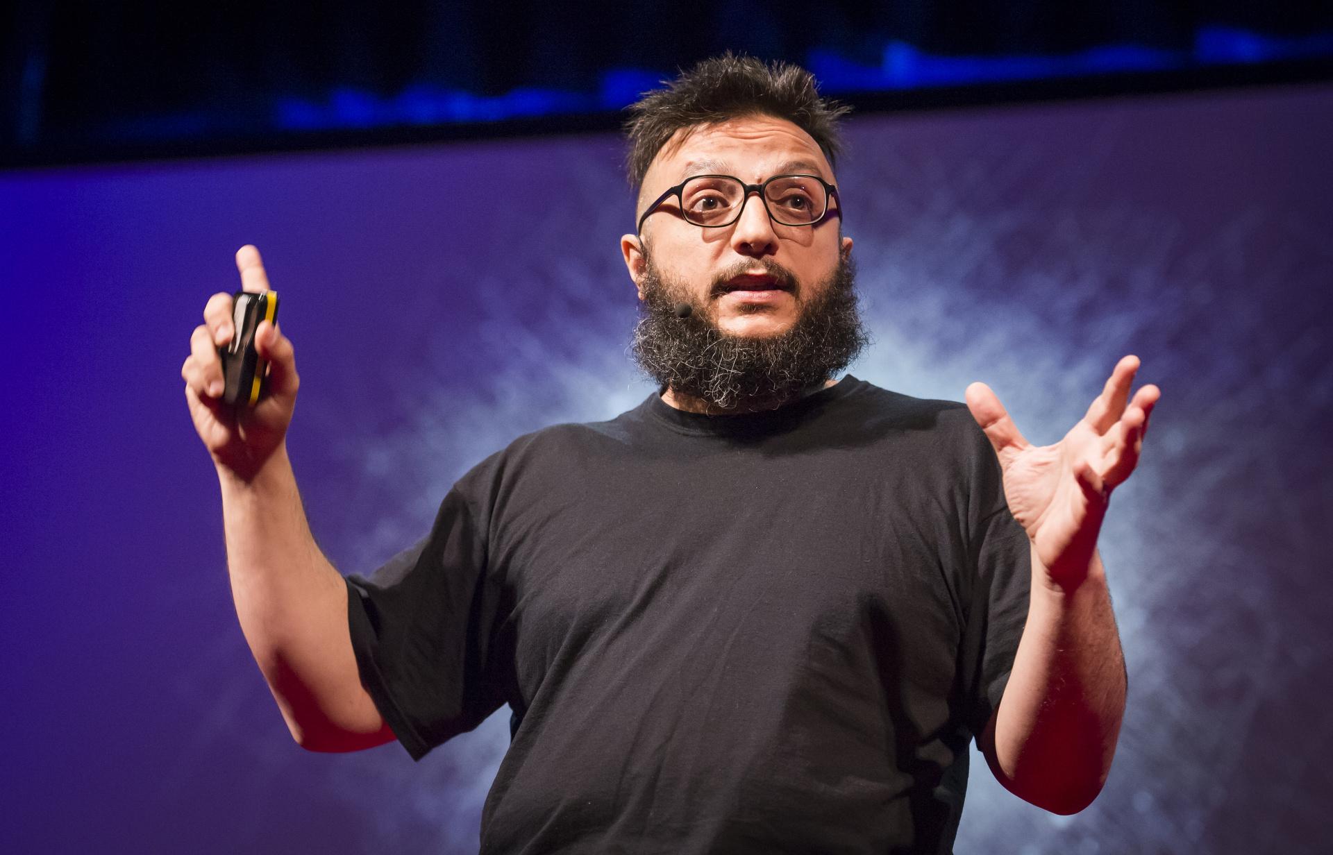 Salvatore Iaconesi at 2013 in Edinburgh, Scotland. June 12-15, 2013. Photo: James Duncan Davidson