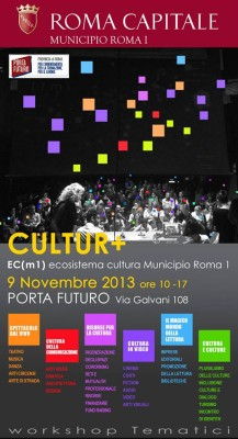 Cultur+: the Cultural Ecosystem of the City of Rome