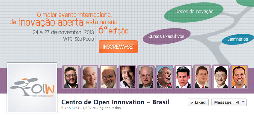 Open Innovation Week Brazil on Facebook