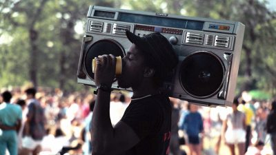 the ghetto blaster