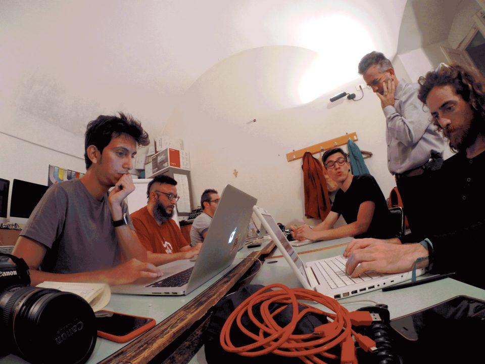 Conservatorio E. Duni, from the left: Tommaso Cappelletti, Salvatore Iaconesi, Marcello Laquale, Antonio Colangelo, Fabrizio Festa, Guglielmo Torelli