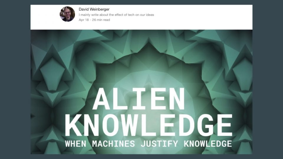 Alien Knowledge