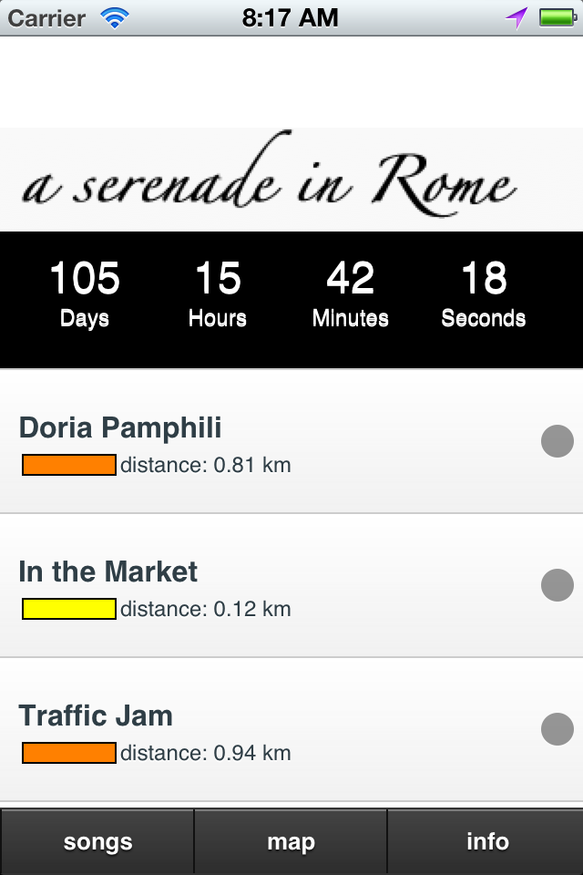 A Serenade in Rome