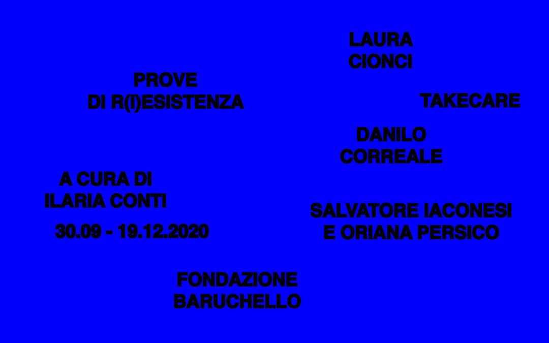 Data Meditations at Fondazione Barruchello