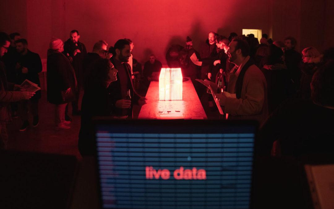 Datapoiesis and Obiettivo in Berlin for State Studio's HYPERTOPIA