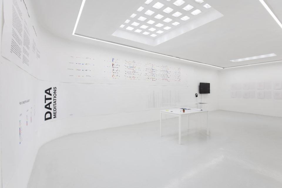 Data Meditation at Fondazione Baruchello