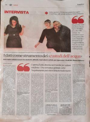 Udatinos on Il Manifesto